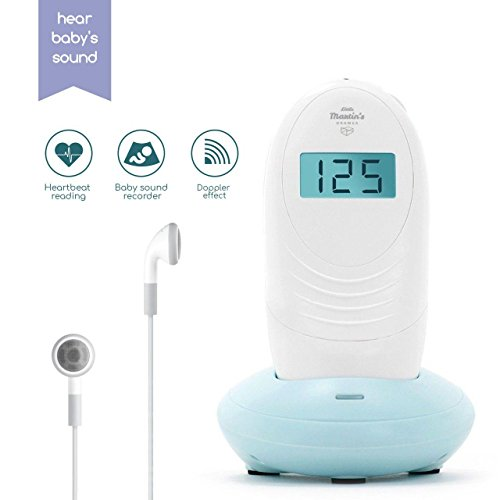 Baby Monitor Sound Amplifier Recorder - Hear Your Baby's Kicks & Noise in Womb - FDA (Doppler Ultrasound)
