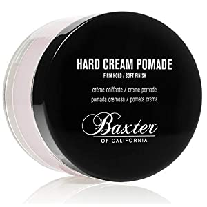 Baxter of California Hard Cream Pomade for Men | Natural Finish | Firm Hold | Hair Pomade 7