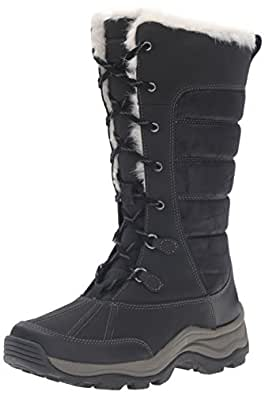 Amazon.com | CLARKS Women's Mazlyn Mill Winter Boot | Mid-Calf