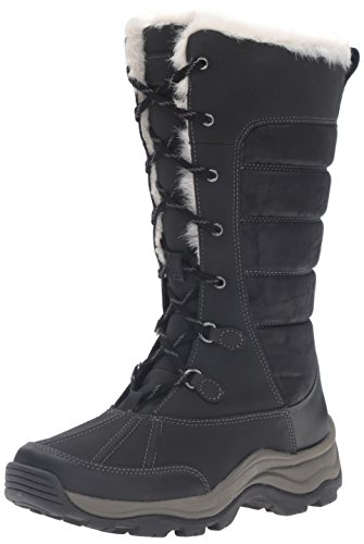 Clarks Women's Mazlyn Mill Winter Boot - Black - 10 B(M) US
