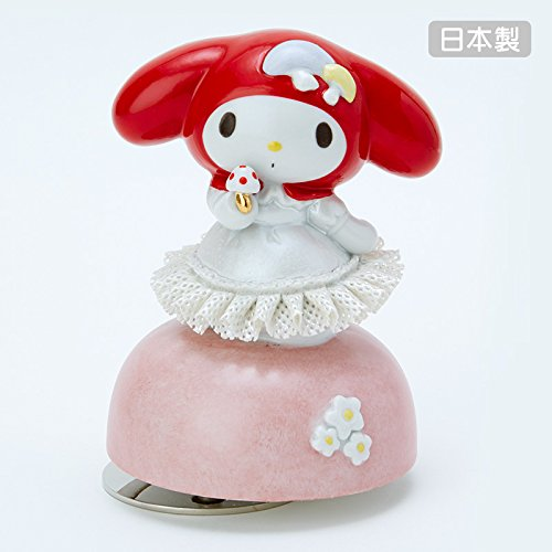 Sanrio My Melody race Doll Music Box Red From Japan New