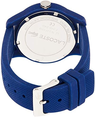 Lacoste Women's 'Ladies 12.12' Quartz Resin and Silicone Watch, Color:Blue (Model: 2000955) 2