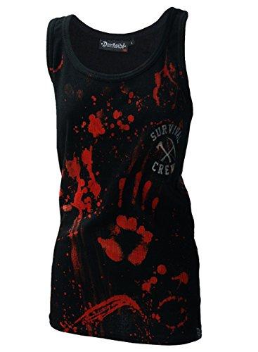 Darkside, Zombie Killer – schwarzes Shirt ohne Ärmel