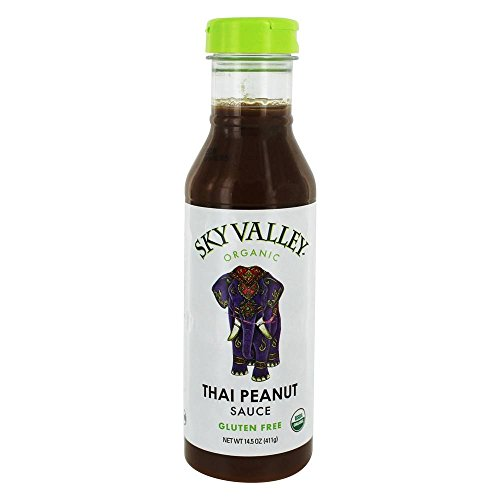 - Sky Valley, Sauce Thai Peanut Organic, 14.5 Ounce