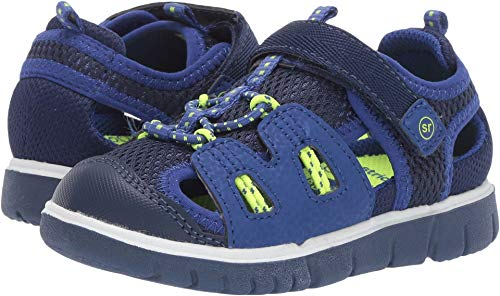 Stride Rite boys River Sandal, navy 11 M US Little Kid