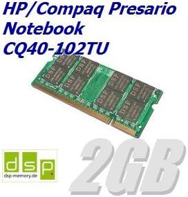 Memoria RAM de 2 GB para ordenador portátil HP/Compaq Presario ...