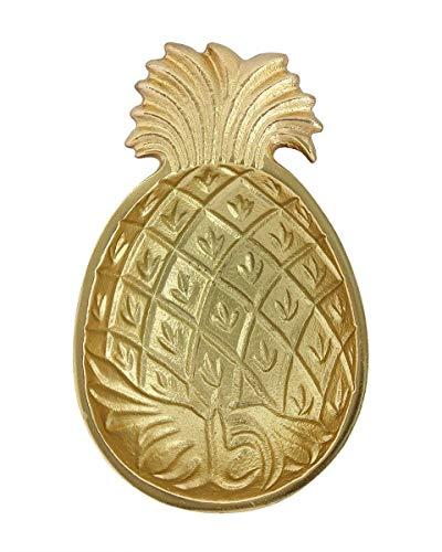 Store Indya Trinket Dish Serving Platter Pineapple Shaped Serving Decorative for Home (Shaped Serving Platter)