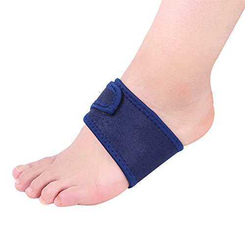 Fashionwu Breathable Elastic Silica Gel High Arch Orthotics Bandage Mat for Heel Foot Pain (Arch Rival Shoes)