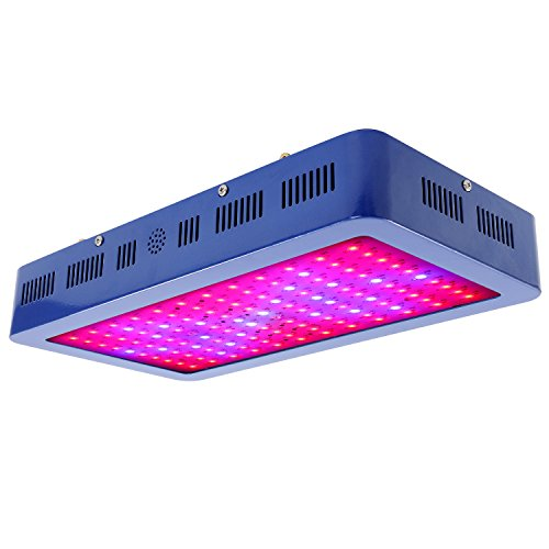1200W Double Chips LED Grow Light Full Spectrum Indoor Plant Grow Lights with UV and IR for Indoor Plants Veg and Flower by XHGrow