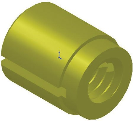 1 Each E-Z Lok #10-32 x 3//8 Lg Brass Press-Fit Insert for Plastic