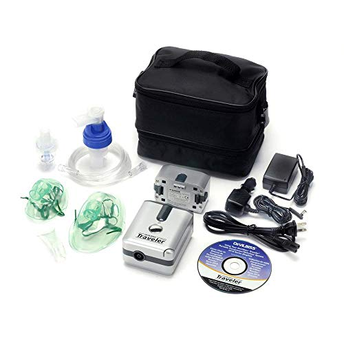 - Ultra Portable Battery Operated Piston Compressor (Battery Included) + Bonus Extra Kit