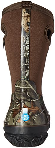 Bogs Kids Classic High Waterproof Insulated Rubber Neoprene Rain Boot, Camo Real Tree Print/Green/Multi, 11 M US Little Kid by Bogs (Image #2)