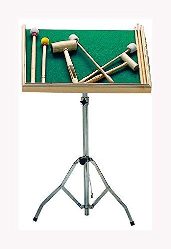 Pie con bandeja para mazas y baquetas (No incluye instrumentos)