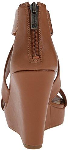 Jessica Jinxxi Light Sandal Wedge Luggage Women's Simpson xrqwHr
