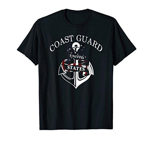 US Coast Guard (USCG) Alumni T-Shirt Men and (Us Coast Guard Costumes)