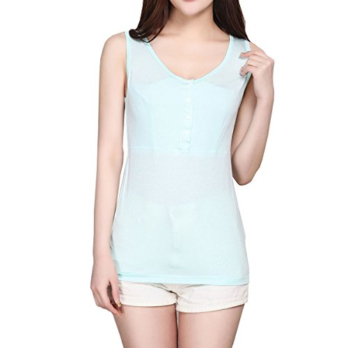 授乳服 タンクトップ 授乳口付き 産前産後兼用 下着 年中使える マタニティキャミソール 肌着