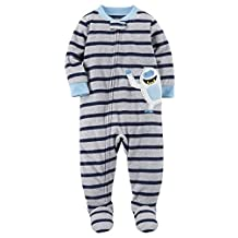 Carter's Baby Boys Footed Fleece Sleeper