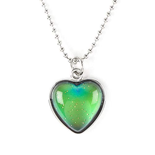Claire's Girl's Mood Heart Pendant Necklace