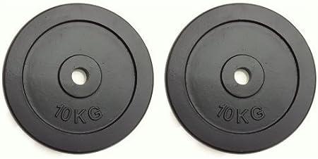 IQI Weights Plates Cast Iron Disco de Entrenamiento Unisex Adulto