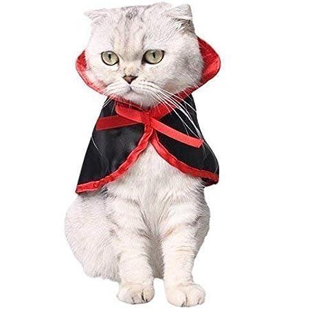 VPlus 1 Disfraz de Gato para Halloween, Disfraz de Vampiro, Disfraz de Halloween,
