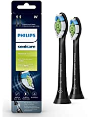 Philips Sonicare Diamondclean Replacement Brush Heads, Black, HX6062/90