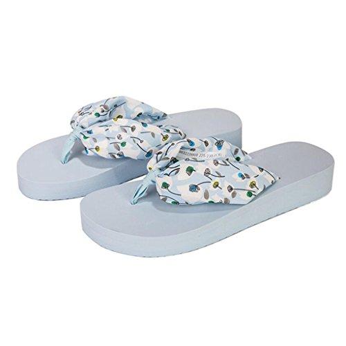Xy Transpirable Flip cn36 Blue color Tamaño Playa Eu36 Exterior Pink Desgaste Verano Femenino uk4 Chanclas Flop De Zapatos Sandalias tg8xBSgwrq