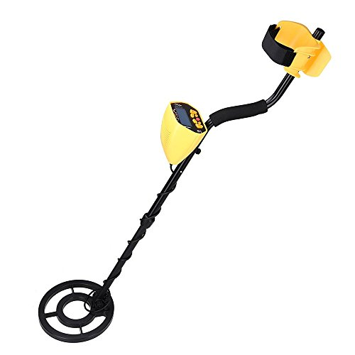 AW Metal Detector Treasure Search Digger Finder LCD Waterpoof Coil Gold Outdoor by AW