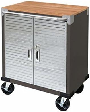Ultra HD 2-Door Rolling Cabinet Graphite