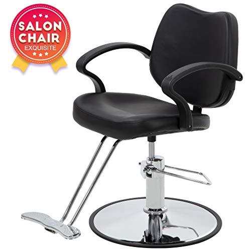 Hair Salon Chair Styling Heavy Duty Hydraulic Pump Barber Chair Beauty Shampoo Barbering Chair for...