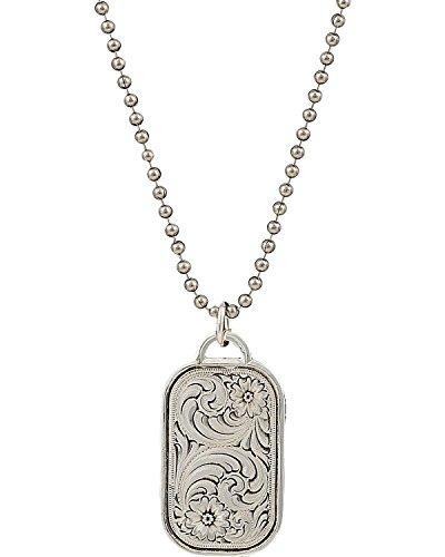 Montana Silversmiths Classic Token Necklace - Silver-tone