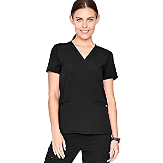 ffab2adeaec You're viewing: FIGS Casma Three-Pocket Scrub Top for Women – Tailored Fit,  Super Soft Stretch, Antimicrobial, Anti-Wrinkle Medical Scrub Top $44.00