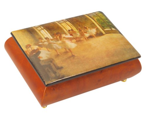 MusicBox Kingdom Jewelry Box Made Of Wood with Ballerina Plays To The Melody