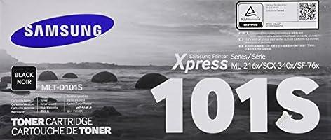 Samsung  MLT-D101S/XAX Tóner Negro, 1500 Páginas