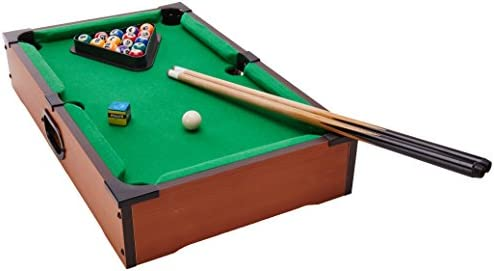 Ideal Rack Em Tabletop Pool