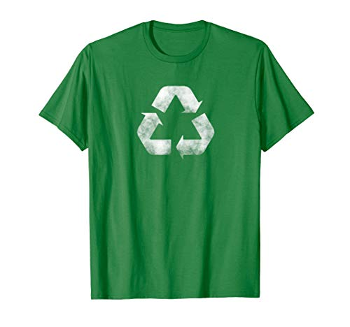 Earth Day Green Recycling Logo Sign Standard T-Shirt