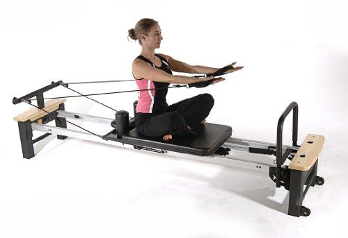 Stamina AeroPilates Pro XP 556 Home Pilates Reformer with Free-Form Cardio Rebounder