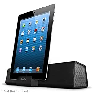 XtremeMac IPU-STR-13 - Altavoz portátil para iPad/iPhone, color negro y gris