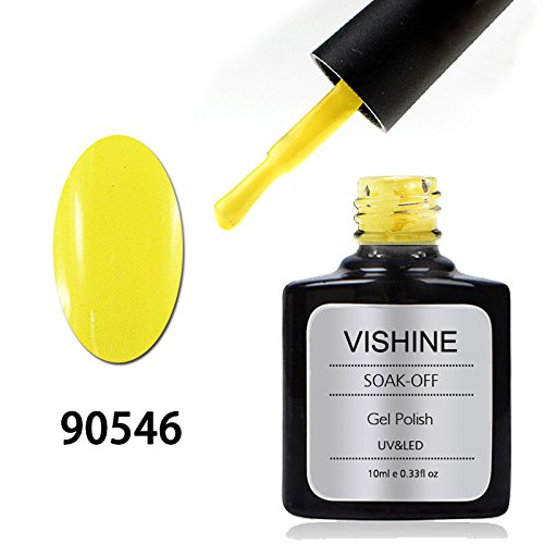 Vishine Varnish Gel Nail Polish Soak Off UV LED Nail Art Man