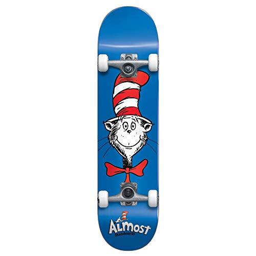 Almost Dr. Seuss Cat Face Complete 7.875 x 31.4 (Dr Skateboard)