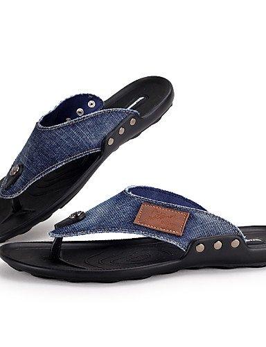 NTX azul uk6 cn39 chanclas hombres light eu39 Casual Denim de zapatos blue us7 negro F4Fraq0