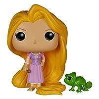 Funko POP Disney enredado: Rapunzel y Pascal