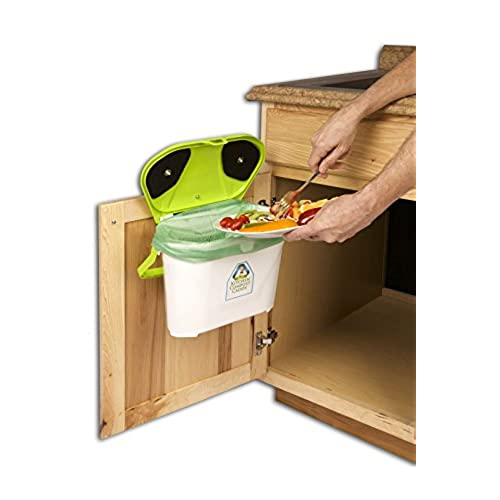 Kitchen Compost Caddy Cabinet Mounted Compost Bin   Pail System