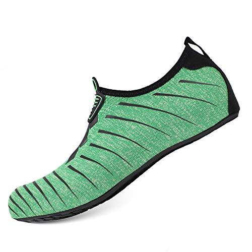 Sports Barefoot Beach amp; Quick Socks Men Swim Dry Heeta Women Black Water for Green Aqua Swim Shoes Shoes PxqanR5wn7