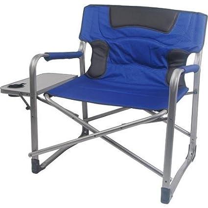 Incredible Ozark Trail 500 Lb Capacity Xxl Director Chair Blue Ibusinesslaw Wood Chair Design Ideas Ibusinesslaworg