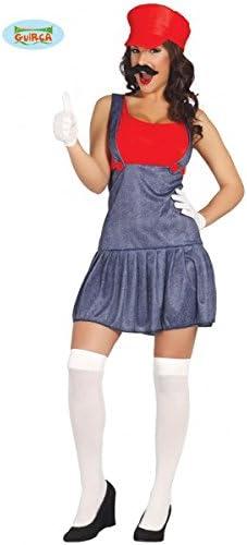 Disfraz de maquinista para mujer - M: Amazon.es: Juguetes y juegos