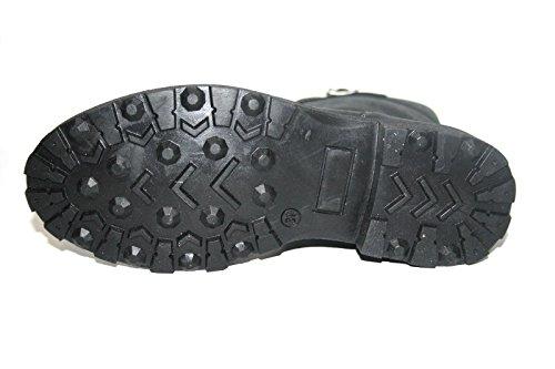 Juge 44016020 chaussures pour enfant noir pointure 31, bottes fille
