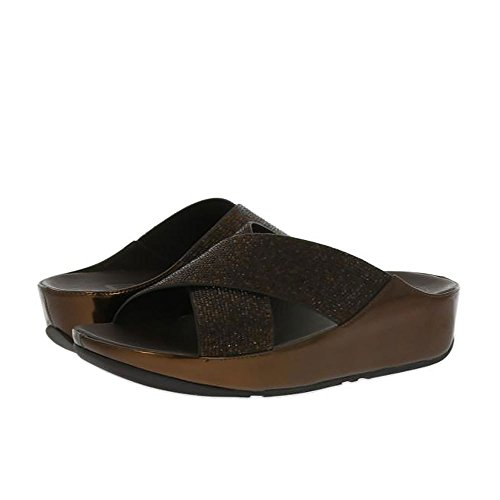 Bronce De Sandalias Fitflop Crystall Diapositiva Bronce