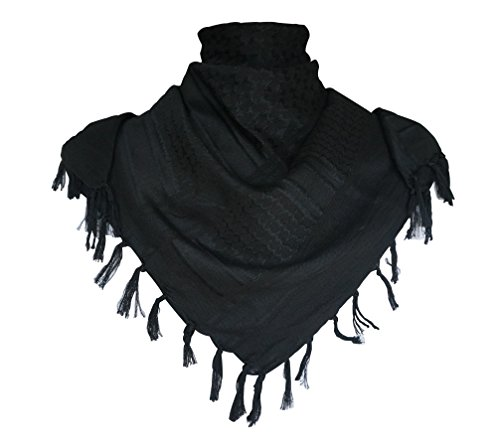 G-Shark Premium Military Shemagh Tactical Desert Keffiyeh 100% Cotton Head Neck Scarf Wrap
