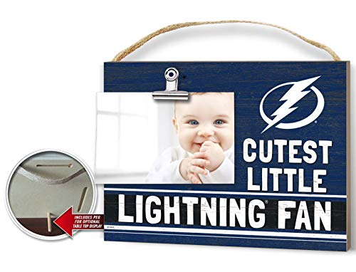 KH Sports Fan Clip It Colored Baby Logo Photo Frame Tampa Bay Lightning