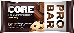 BASE Protein Bar, Cookie Dough - Box of 12 Bars by PROBAR